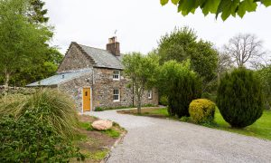 Lacet Cottage, Ullswater pet friendly holiday cottage in the Lake District - Front of Cottage